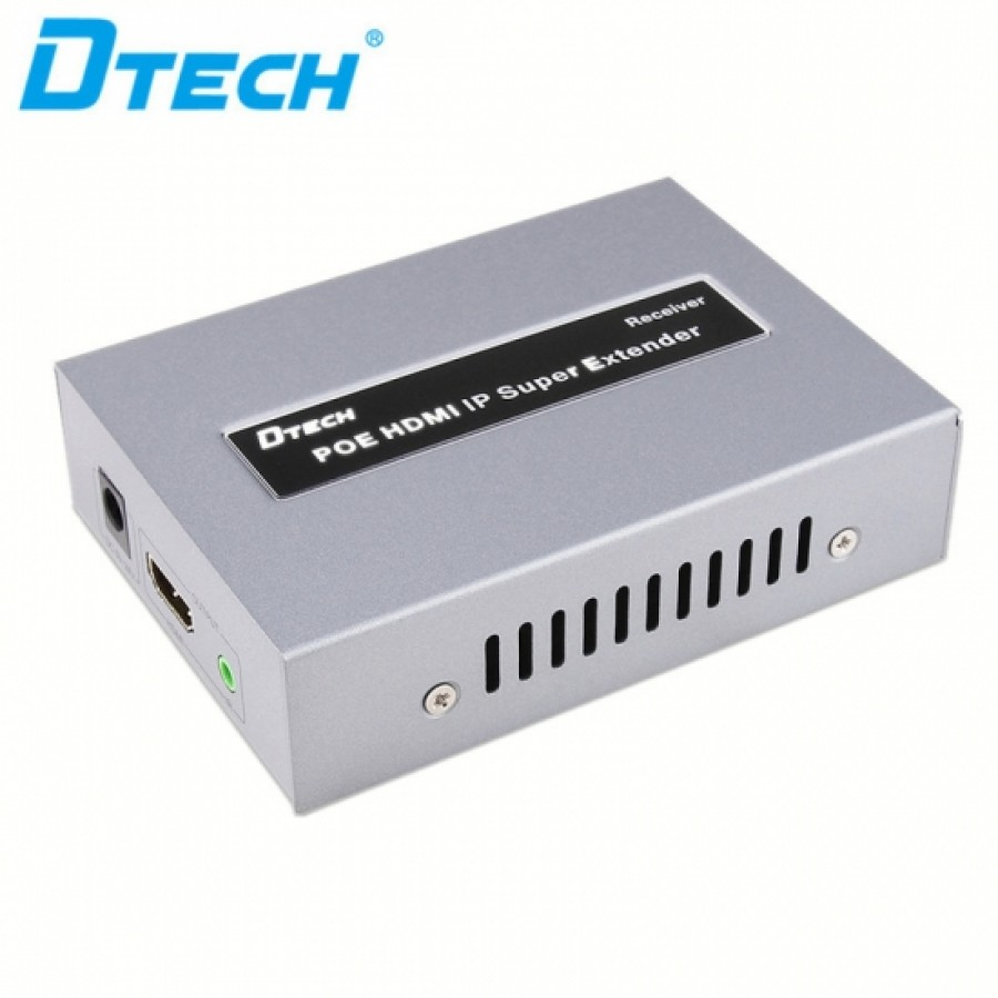 DTECH DT-7047R Hdmi POE Extender Over IP By CAT5 Cat6 Cable 120m Receiver